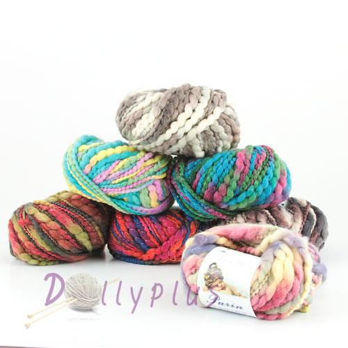 Wool yarn, Nylon yarn